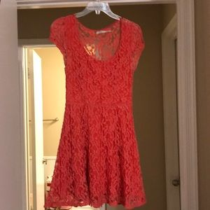 Cherry Blossom floral lace dress
